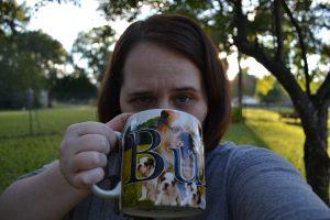 krista drinking earl grey creme tea