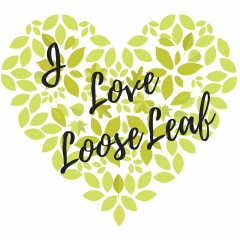 I LOVE LOOSE LEAF tea logo