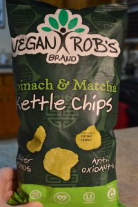 Vegan Bob's Spinach and Match Kettle Chips