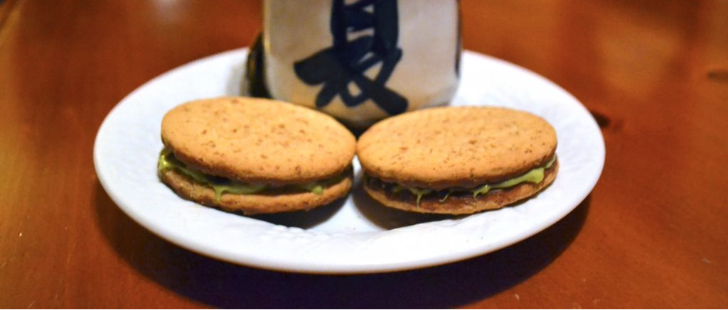 Matcha-Filled Cadbury Cookie Sandwiches Recipe