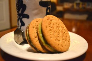 Matcha Filled Cadbury Digestives Recipe