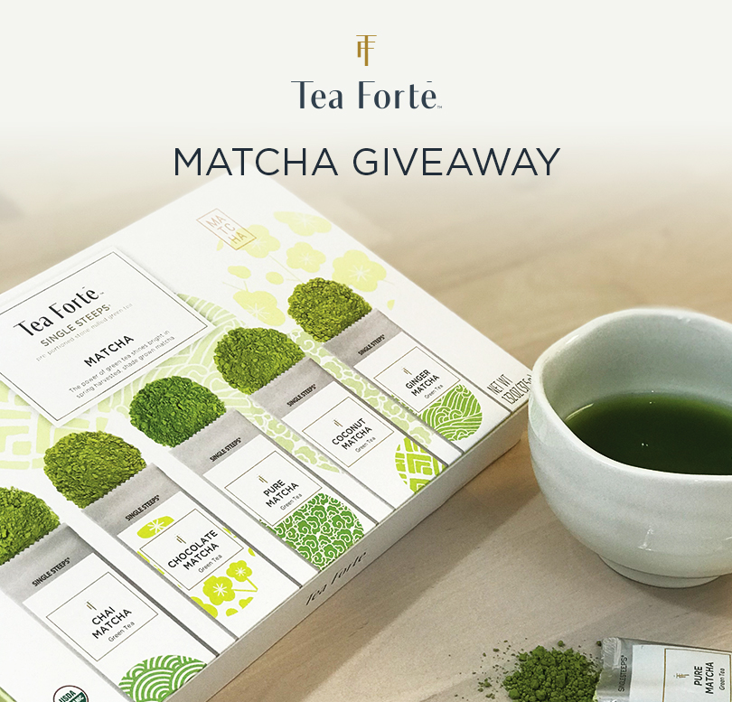 Enter Tea Forte's Matcha Giveaway
