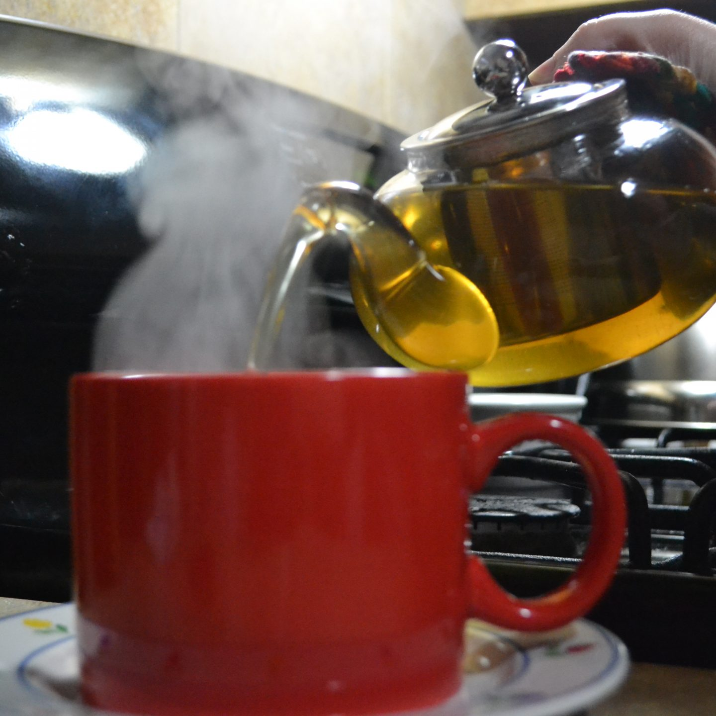 My Favorite Christmas Present: The Hiware Glass Teapot