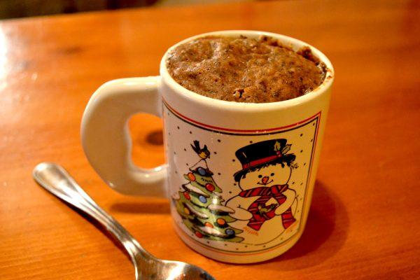 Black Tea Mug Cake