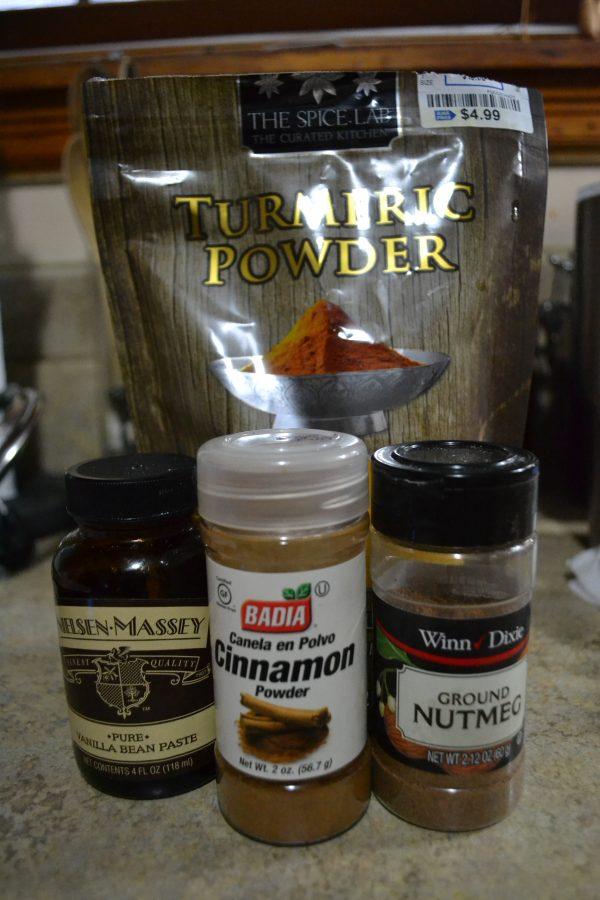 turmeric ginger tea ingredients