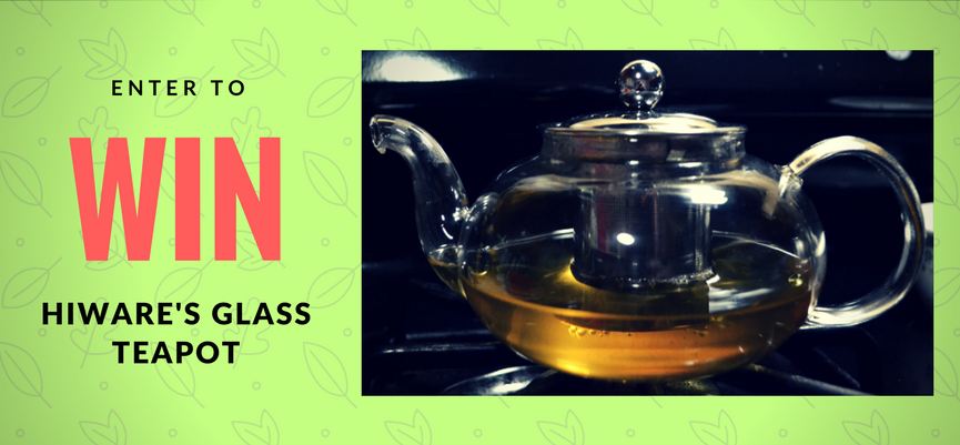 Giveaway: Hiware Glass Teapot!