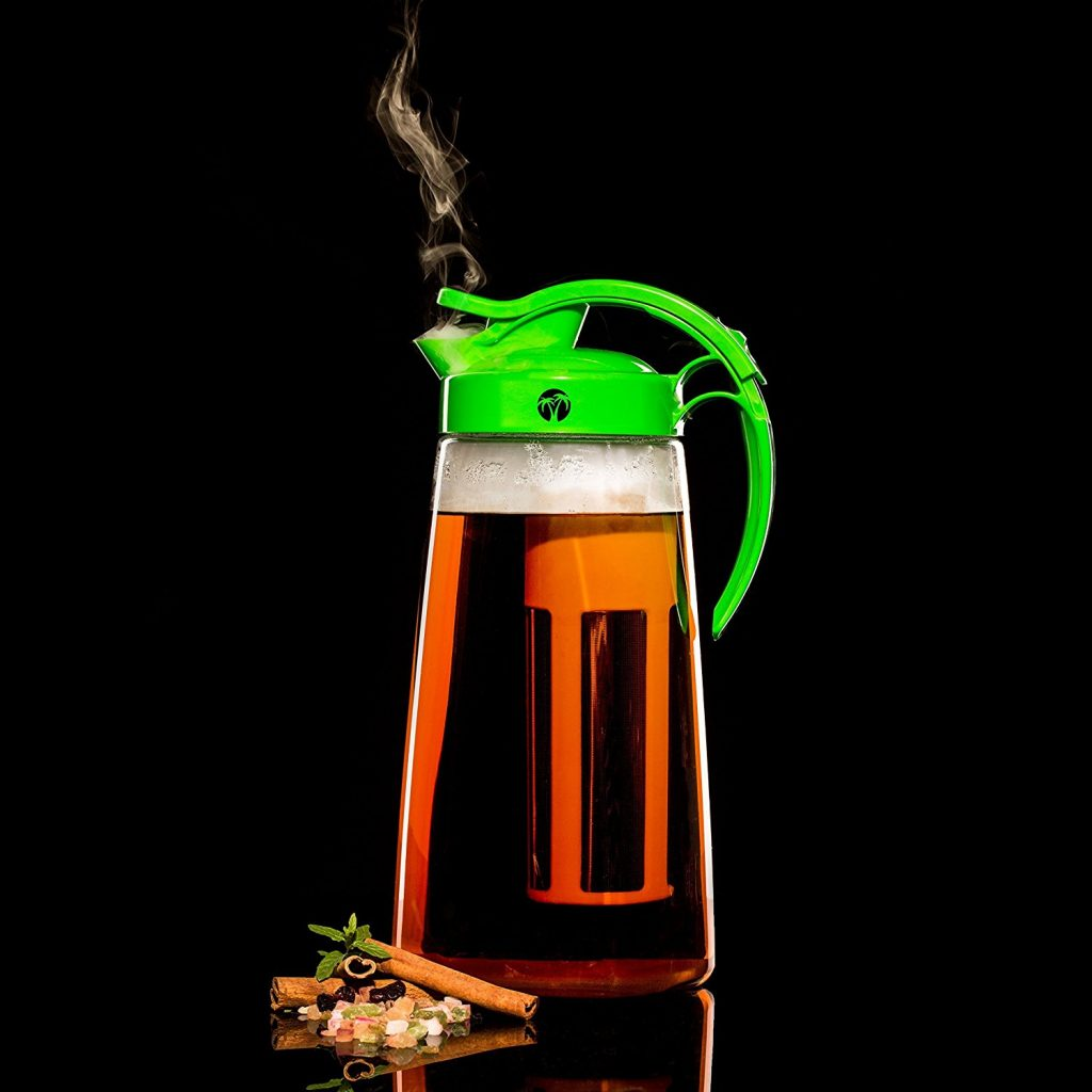 tea pitcher with infuser